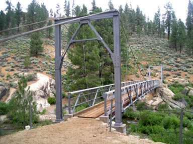 Horse Bridge across the Little Kern