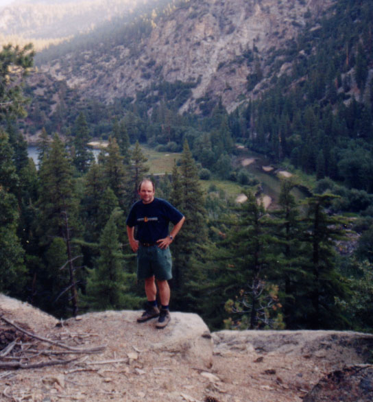 Dan above Little Kern Lake