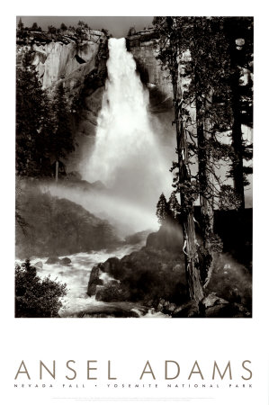 Nevada Fall (Ansel Adams)