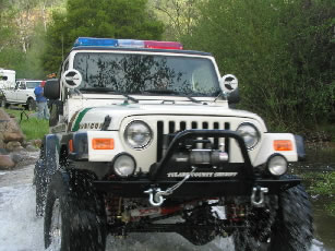 Tulare County SAR Jeep