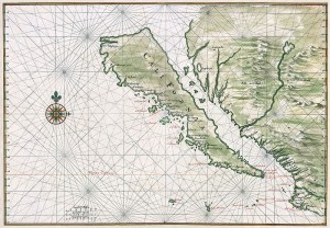 Island of California, by Johannes Vingboons